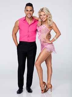 FIRST LOOK: Check Out Dancing with the Stars Season 21's Official Pairs Portraits! | Carlos PenaVega and Witney Carson |