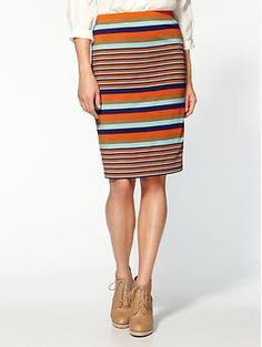 Rhyme & Echo Lina Stripe Skirt - first of what I am sure will be many items on my fall want list