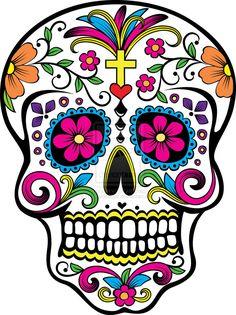 Dia de los Muertos super cute suger skull. Description from pinterest.com. I searched for this on bing.com/images
