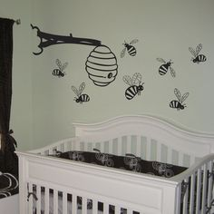 With Little Buzzing Bees Around A Bee Hive Will Love Great Hanging Over Your Baby S Crib Ion The Nursery As Sweet And Whimsical Decoration