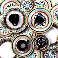 Aparelho De Jantar Luiza Oxford Porcelana 30 Peças