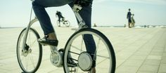 Toledo, Augustinoy & Sevillia is raising funds for Gi FlyBike: The first electric bike that folds in one second on Kickstarter! We built Gi FlyBike in the pursuit of one big idea: to transform the way millions of people commute around the world. Foldable Electric Bike, Folding Electric Bike, Folding Bicycle, Electric Bicycle, Electronic Bike, Velo Design, First Second, Commuter Bike, Bike Style