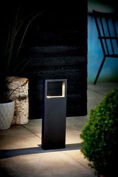 Nordlux Avon LED designer Sockelleuchte Außen schwarz