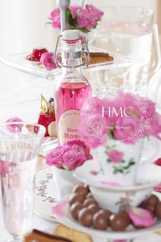 "FEATURED!!   Girly pretties : The Most Fragrant Roses Party ""La vie en rose"""