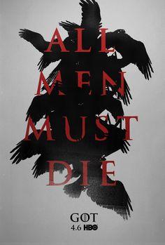 Game of thrones keyarts by Sasha Vinogradova, via Behance | Illustration | Poster | Illustrarionart | GOT | Crows