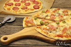 Pizza lui Gennaro, sau Pizza in stil italian - Pas cu Pas - LaLena. Hawaiian Pizza, Food And Drink