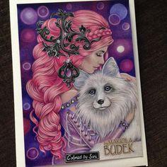 """307 tykkäystä, 22 kommenttia - Sari Hankaniemi (@sari_kani_) Instagramissa: """"Free coloring page from Mariola Budek! #mariolabudek #coloring #adultcoloringbook"""""""