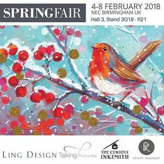 Find us at @springautumnfair with @greetingsbyling and @pk_penny_kennedy on stand 3Q18-21. Not to be missed! #Repost
