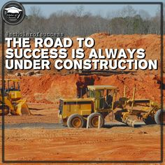 The road to success is ever-changing, always under construction. It's up to you to adapt. ️ Follow me and check out @scholarofsuccess on Instagram! #motivation