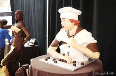 Lucille Ball Chocolate Sculpture from NY Chocolate Show