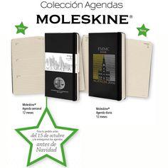 COLECCION AGENDAS MOLESKINE
