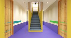 Interior design for kindergarten