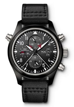 IWC Pilot's Watch Double Chronograph  TOP GUN Edition