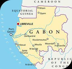 GABON IN CENTRAL AFRICA