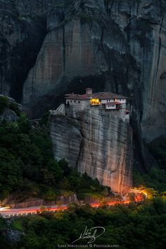 Meteora, Thessaly, Greece Photo by  Nikoloulis, on 500px.