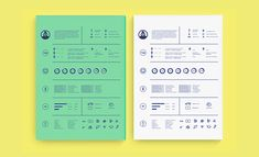 Here you will find our selection of 40 creative resume designs from people who understand the power of a good resume. They've created some of the best designs we've ever seen on the web. These designs range from minimalistic resumes…