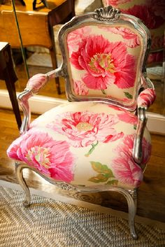 WANT! Need to maybe reupholster something instead of ordering new