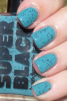 The PolishAholic: Super Black Summer 2013 Collection Swatches