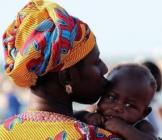 Mother's Love in The Gambia.