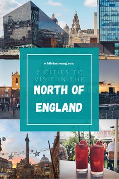 Exploring the UK? Don't miss these 7 creative cities in the northern England! Click for a list of the best places to visit Up North and why you should go there PLUS things to do and hotel recommendations for every budget. Start planning your city break in the North of England now.  #Cities #England #Northern #NorthEastEngland #Cheshire #NewcastleUponTyne #Yorkshire #Leeds #CityBreaks #EnglishCities #BritishCities #PlacesToSeeInEngland #EnglishHistory #Historic #Architecture #Drink #Nightlife Travel Tips England, Travel Uk, Europe Travel Guide, London Travel, Travel Abroad, Travel Guides, Travel Destinations, Edinburgh Travel, Scotland Travel