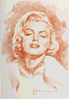 Marilyn Monroe portrait by Jose Gonzalez, 2002 Marilyn Monroe Portrait, Marilyn Monroe Photos, Marylin Monroe, Alex Pardee, Bristol Board, Pop Culture Art, American Gods, Illustration, Arte Pop