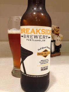 Breakside Brewery IPA is a strong bitter IPA made with Northwest hops and just the right amount of hop at 6.4%. Brewed in Portland, Oregon.