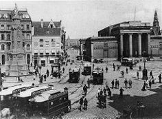 Zocher's Exchange.. Dam .. Amsterdam c1890's.. replaced in 1903 by H.P. Berlage's Commodity Exchange
