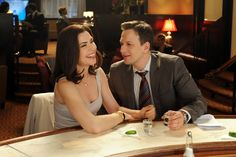 Alicia Florrick & Will Gardner on The Good Wife