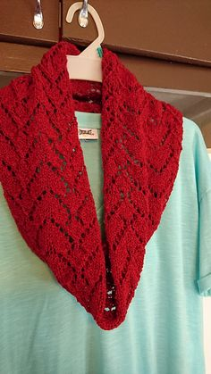 Queen of Hearts Cowl pattern by South Shore Originals