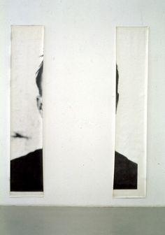 Michelangelo Pistoletto, Le orecchie di Jasper Johns (The Ears of Jasper Johns), 1966