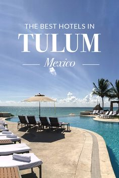 An insider's travel guide to the best hotels in Tulum, Mexico. Get reviews, prices and more in this article.