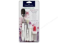 D-M-C Gelatos 6 Pc Tool Set by ByTheWell4God on Etsy