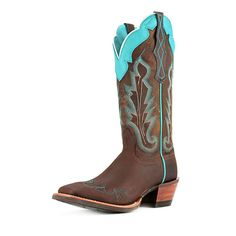 Ariat Women's Caballera Cowgirl Boot Wide Square Toe - 10007852 -- See this awesome image  : Boots