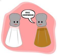 La sal y la pimienta #Courconnect #Languages #Courses