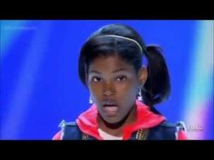 Diamond White - X Factor USA Audition 2012 - It's A Mans World 13 Year old Diamond White