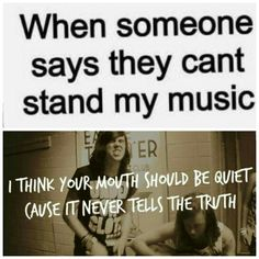 lyrics from With Ears To See and Eyes To hear by: Sleeping With Sirens lol this is awesome! Band Quotes, Band Memes, Kellin Quinn, Music Memes, Music Quotes, Emo Bands, Music Bands, Music Is Life, My Music