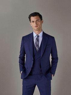 Mens Fashion Suits, Mens Suits, Men's Fashion, Business Casual Men, Men Casual, Pool Outfits, Men Photoshoot, Three Piece Suit, Formal Wear