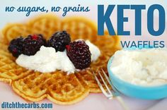 Try these super simple keto waffles. They are so versatile as they can be made sweet or savoury. There are no protein powders or complicated ingredients. Incredibly low in carbs.