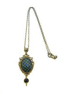 Scottish Tartan Jewelry Ancient Romance Series by DivaDesignsInc