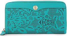 REBECCA MINKOFF Luma laser leather wallet at ShopStyle