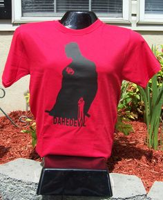 Daredevil Silhouette T-Shirt by DJsDecals on Etsy