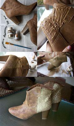 Veja fotos de 3 customizações muito legais para você fazer nas suas botas e ficar na moda