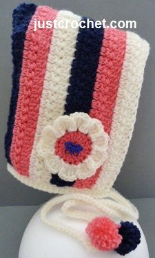 Free baby crochet pattern for pixie hat http://www.justcrochet.com/pixie-hat-usa.html #justcrochet #patternsforcrochet
