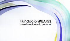 Fotografía de una pared de nuestra oficina con el logotipo de Pilares. Personal Care, Logos, Self Care, Personal Hygiene