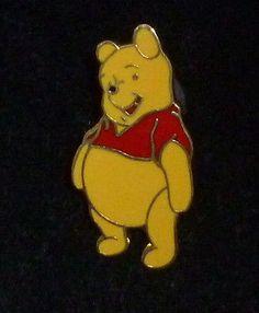 Disney Winnie the Pooh Bear Smiling Pin