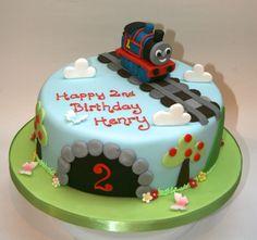 Thomas The Tank Engine Cake Template - Cake Toppers : Cake Image . Thomas Birthday Cakes, Thomas Cakes, 2 Birthday Cake, Birthday Ideas, Thomas And Friends Cake, Rodjendanske Torte, Cake Competition, Cake Templates, Novelty Cakes