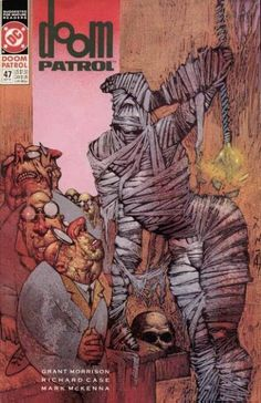 The cover to Doom Patrol #47 (1991), art by Simon Bisley