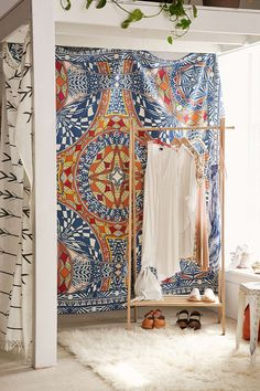 Magical Thinking Optic Motif Tapestry - Urban Outfitters