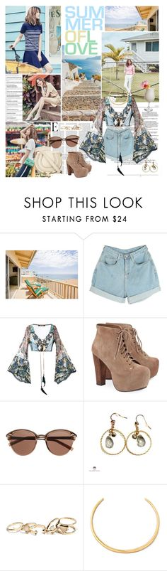 """""""Say Hola"""" by ita-varela ❤ liked on Polyvore featuring DuÅ¡an, Roberto Cavalli, Jeffrey Campbell, Disney, Witchery, GUESS, Alexis Bittar and Chloé"""