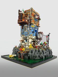 Last man on Earth Lego Design, Lego Zombies, Lego Minifigure Display, Niklas, Lego Sculptures, Lego Craft, Lego Man, Lego Mecha, All Lego